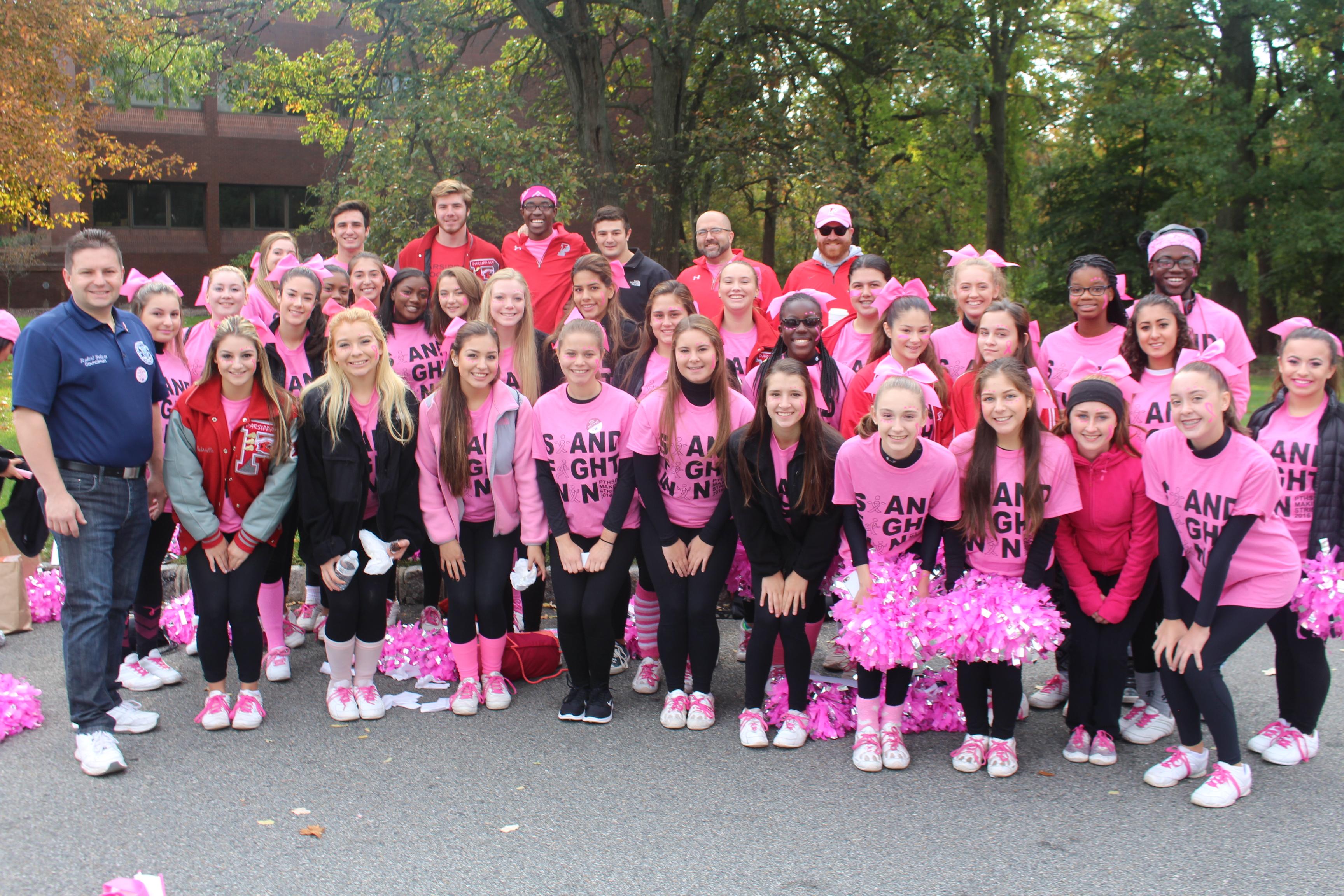 Breast cancer walk in morris county nj