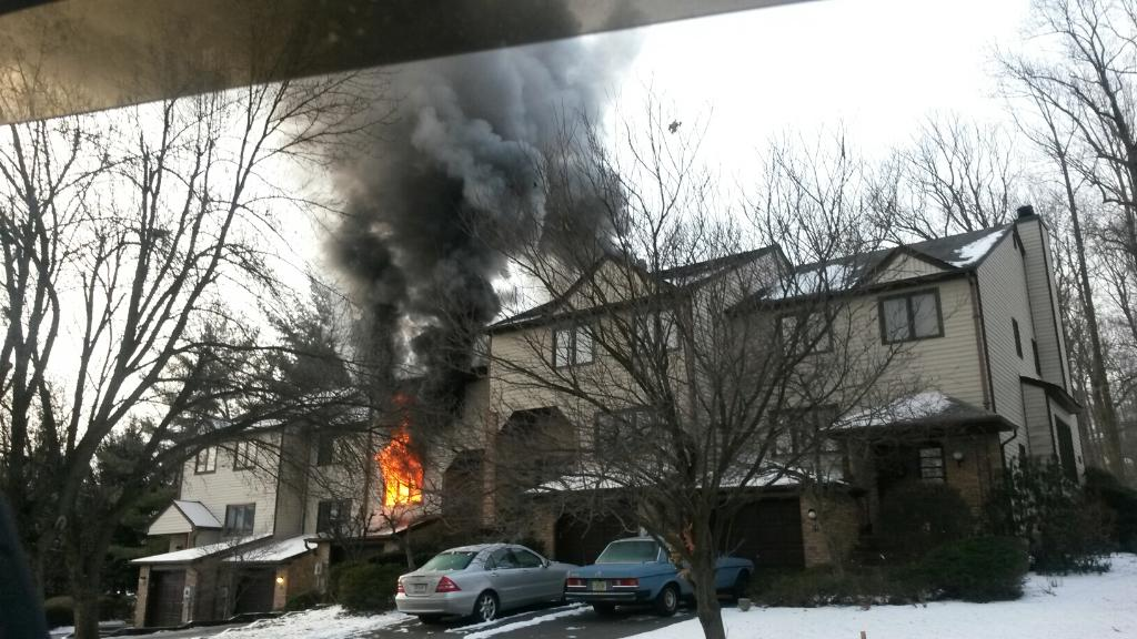 Red Cross Assisting Two Families Displaced  by Fire in Parsippany