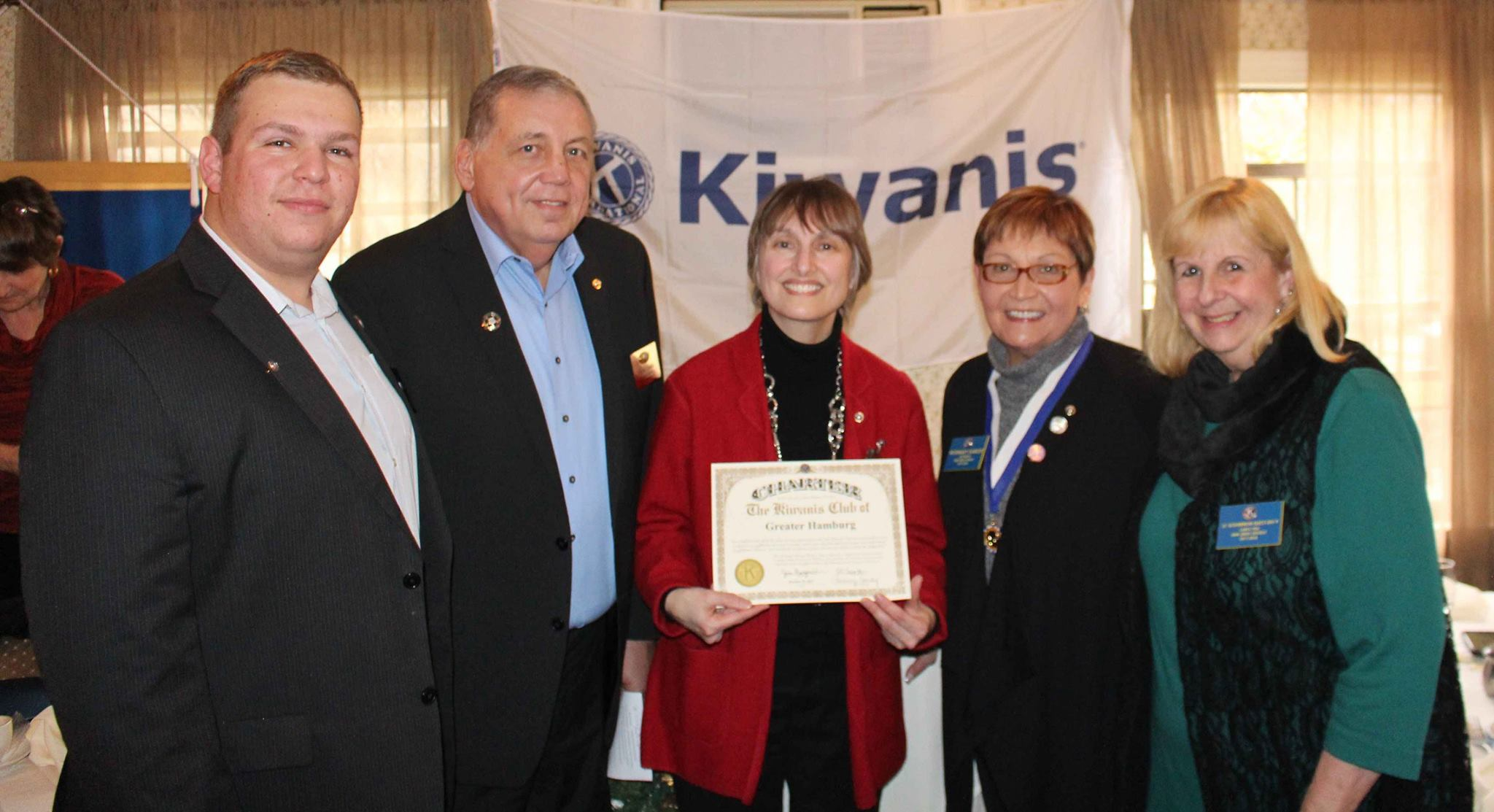 Kiwanis Club of Greater Parsippany welcomes new chartered Club – Kiwanis Club of Greater Hamburg