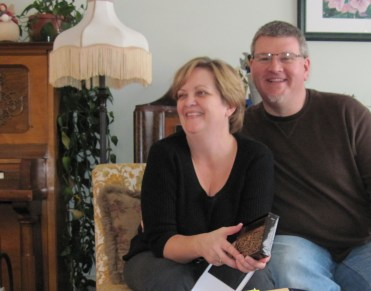 Photo of Steven & Deb Koster sitting