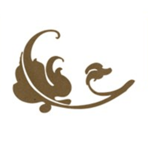 a leaf silhouette used as parsonage inn logo