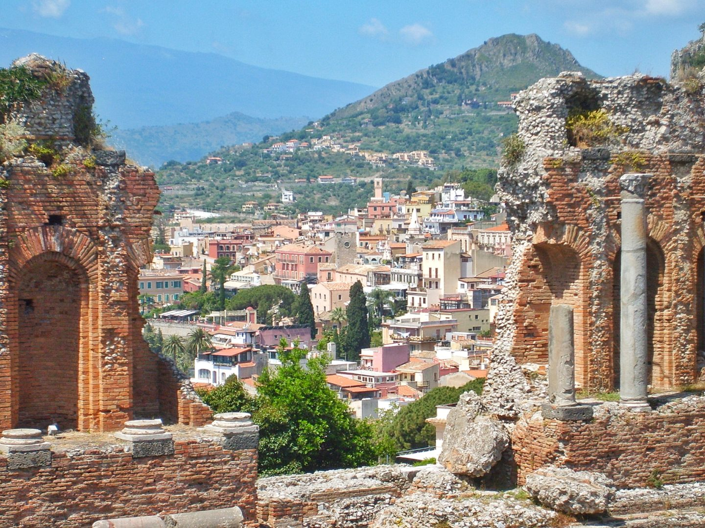 How to travel more with a full-time job Sicily ampitheatre