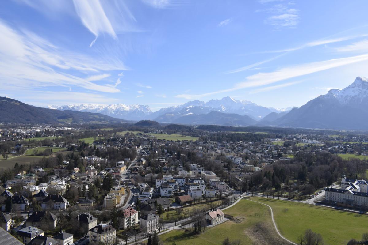 Mountain views weekend break in Salzburg Austria