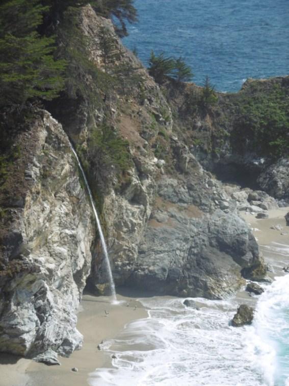 McWay Falls Big Sur California road-trip