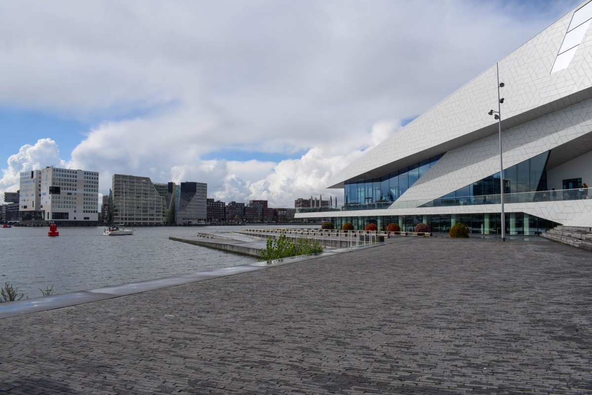 EYE Filmmuseum in Amsterdam Noord