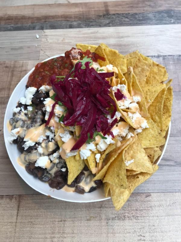Nachos at Foodhallen Amsterdam