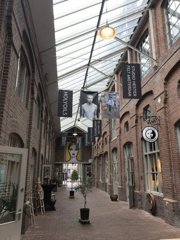 De Hallen entrance in Amsterdam