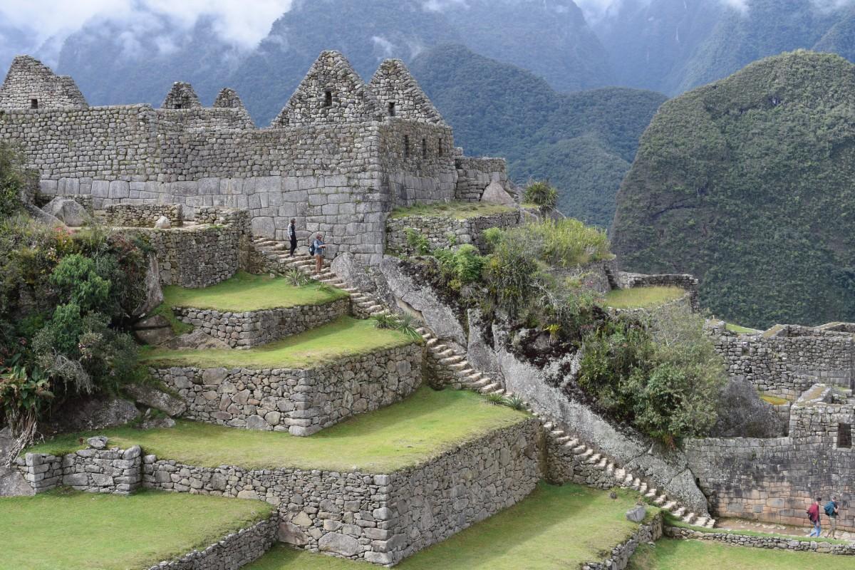 Machu Picchu ancient fort