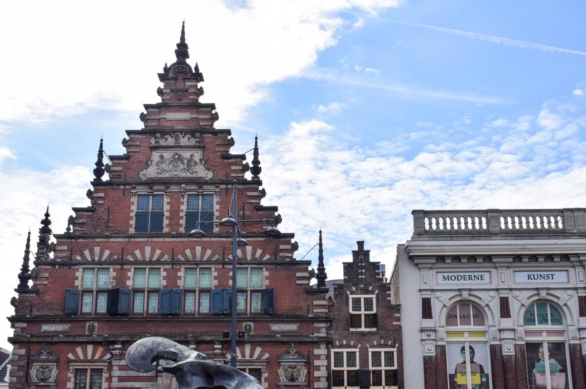 Vleeshall building Haarlem Netherlands