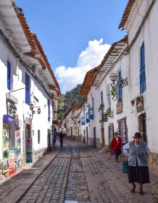 San Blas district Cusco Peru