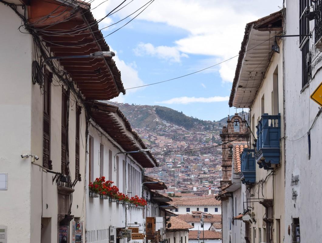 Cusco Peru rooftops