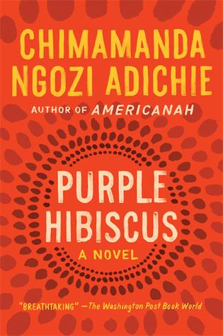 Travel books Purple Hibiscus, Chimamanda Ngozi Adichie