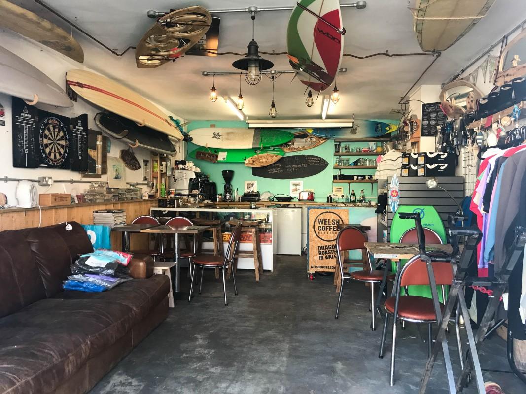 Coney Surf cafe Porthcawl