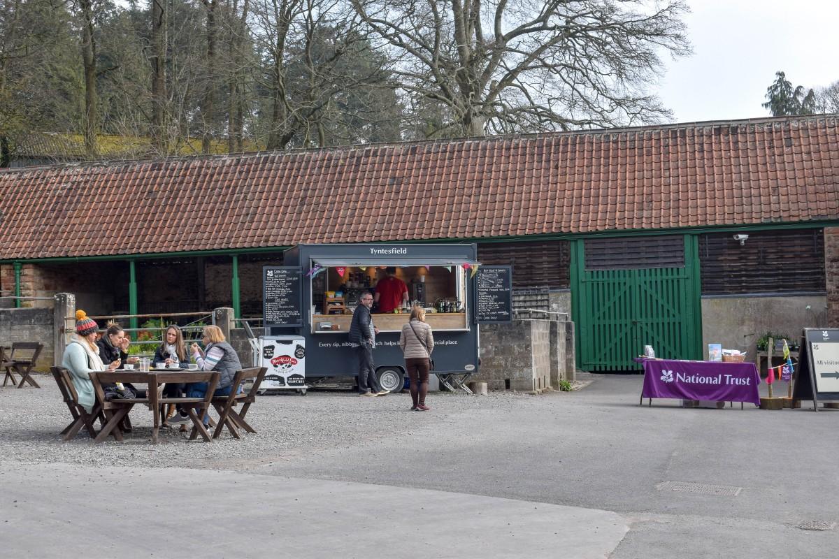 Cafe in Tyntesfield entrance Bristol