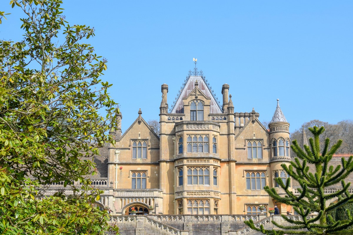 Close up view of Tyntesfield house