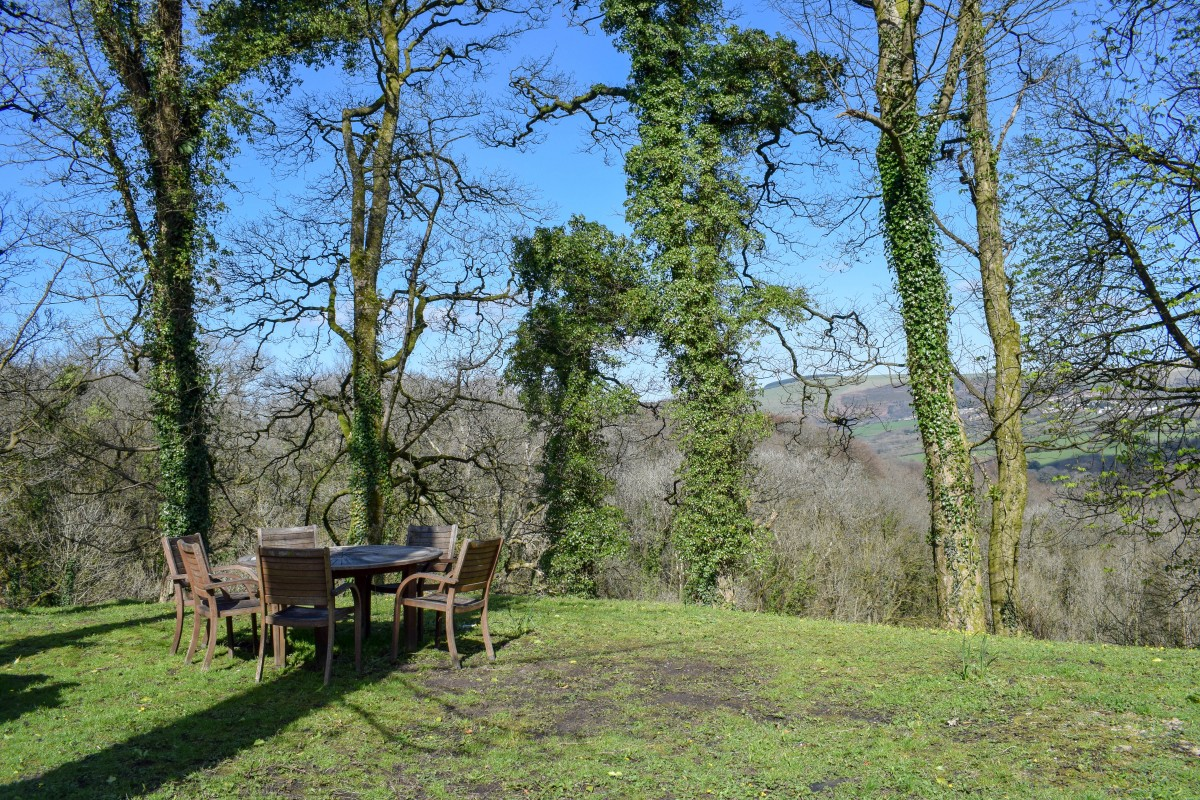 Woodlands Bistro Tondu view Wales