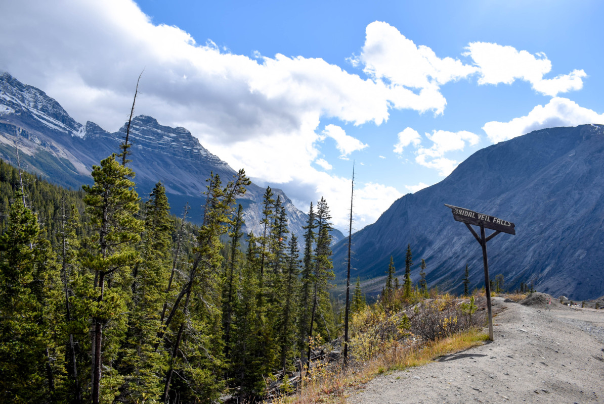 Bridal Veil Falls Icefields Parkway Canada