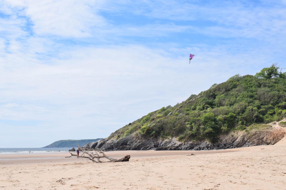 Three Cliffs Bay Gower Wales