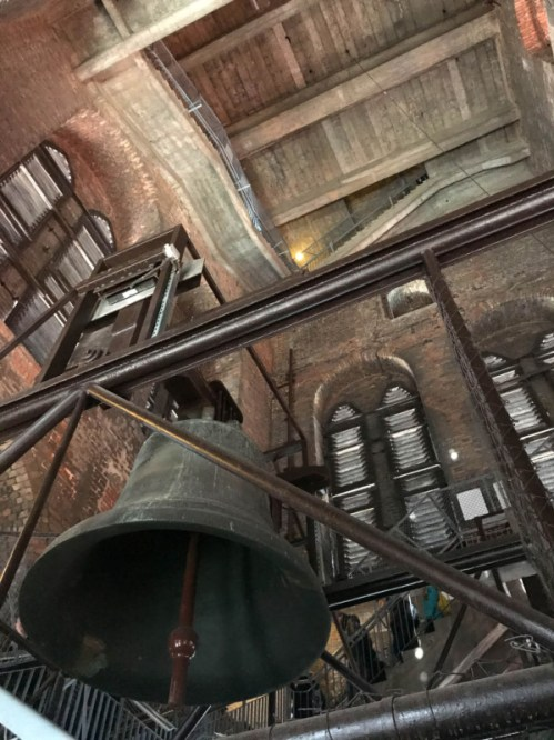 St Mary's basilica bell tower Gdansk