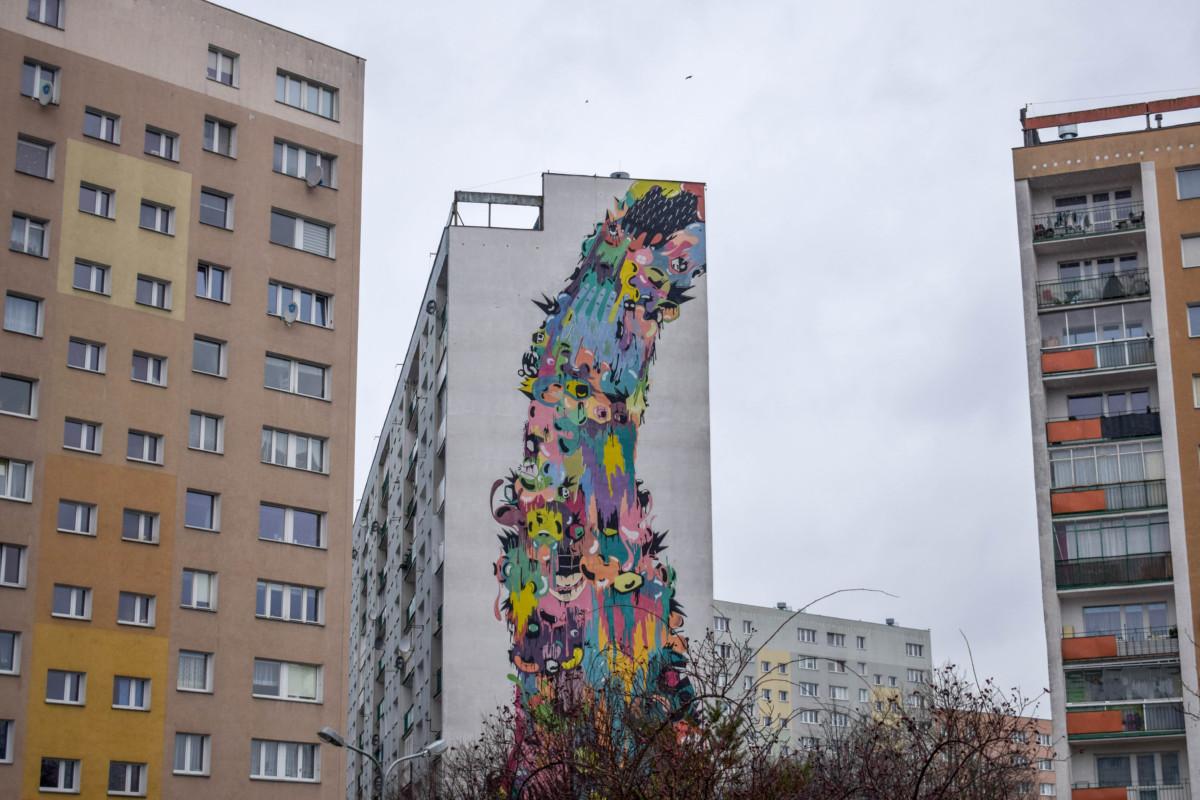Street art Zaspa Gdansk