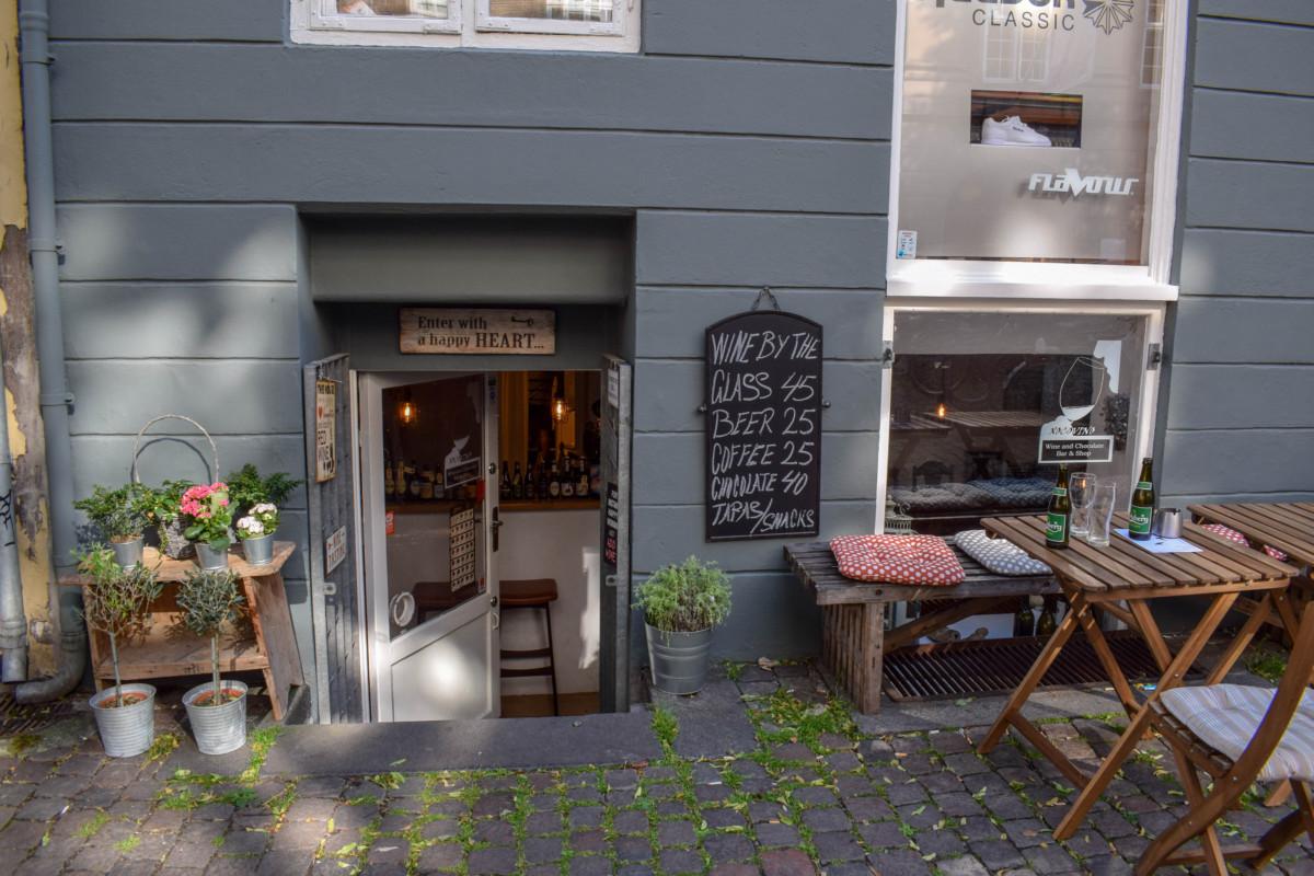 Xocovino Copenhagen wine bar