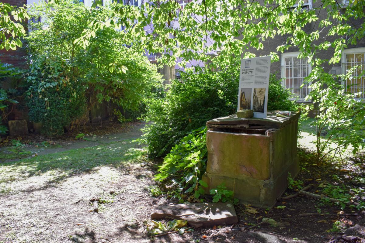 Saint John's Ancient Churchyard Bristol
