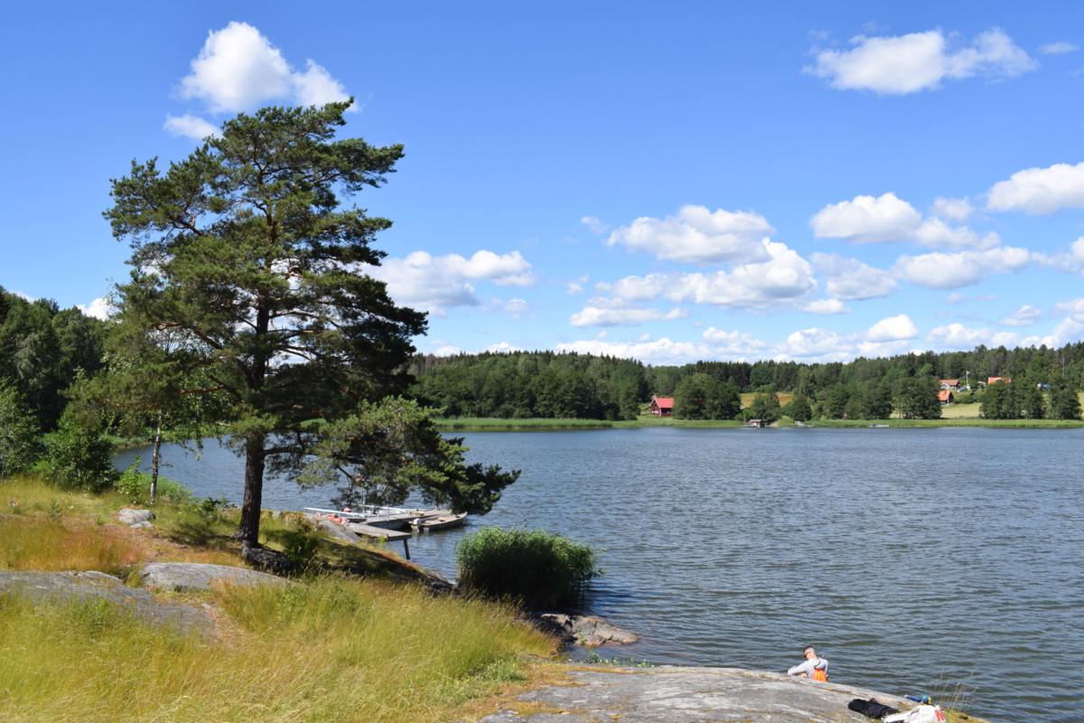 Vaxholm hike Bogesund Sweden day trip from Stockholm