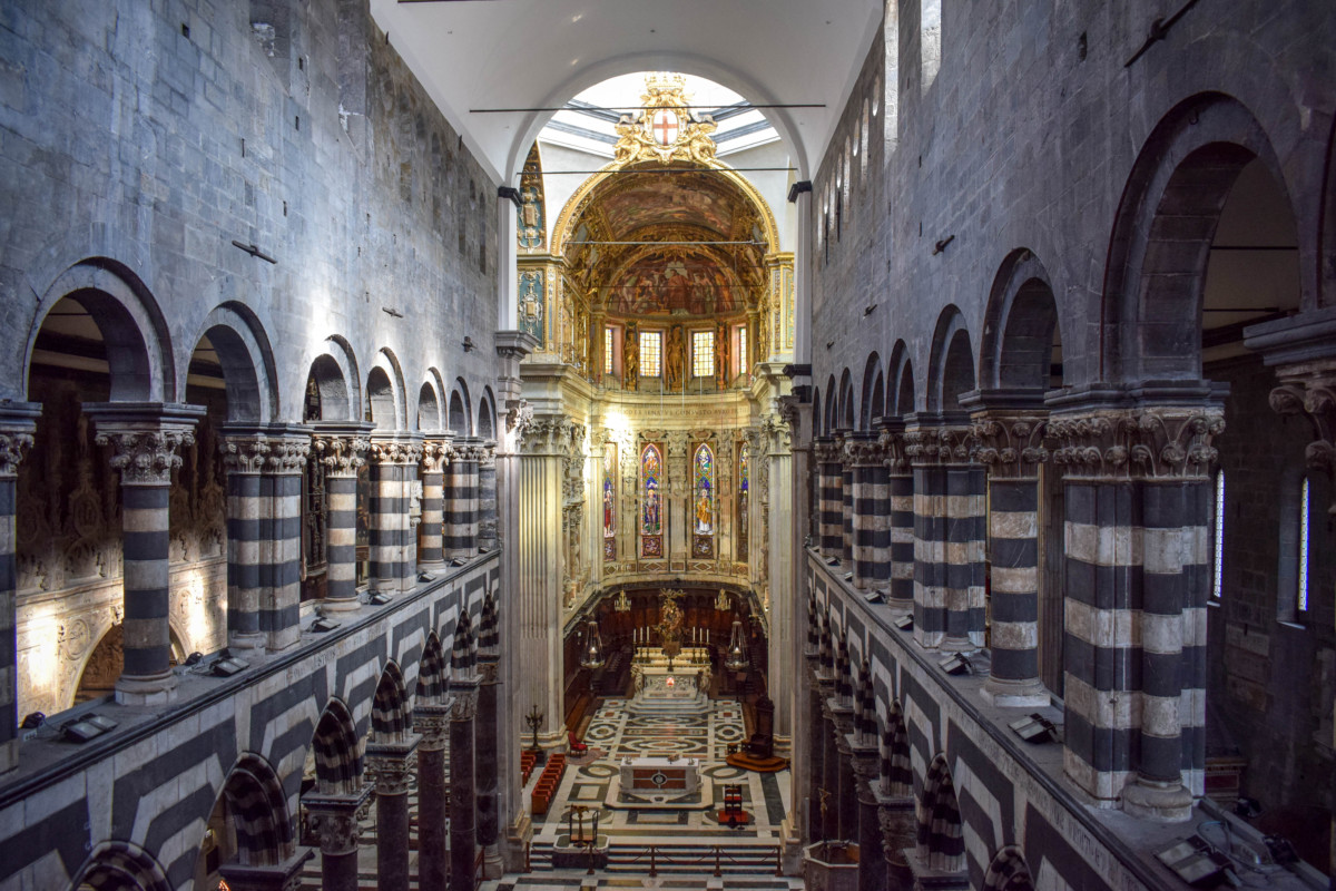 Genoa Cathedral Italy Inside