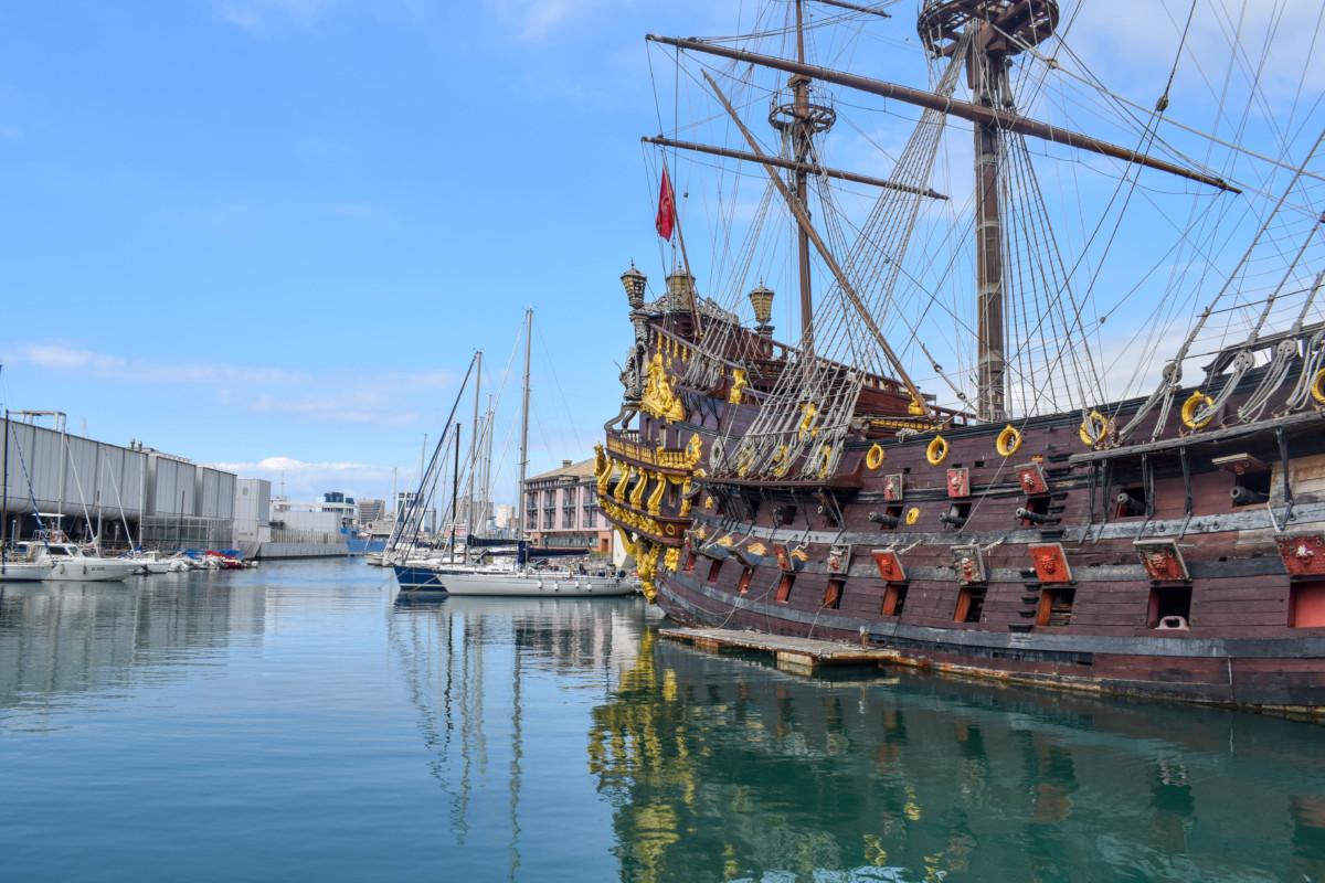 Genoa Italy Marina