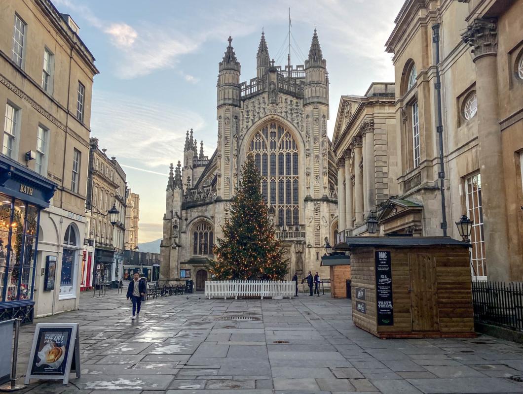 Bath Abbey Christmas