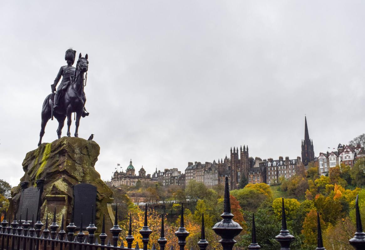 Royal Scots Grey Monument Edinburgh