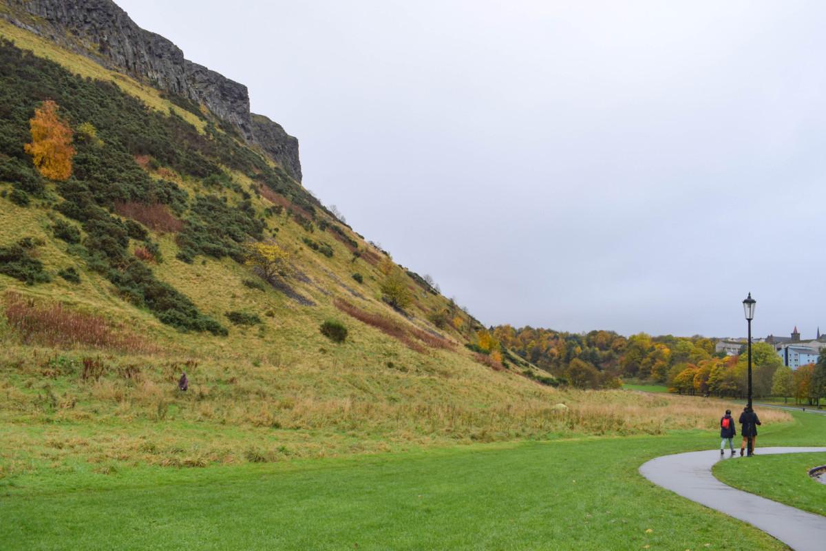 Holyrood Park Arthurs Seat Edinburgh Autumn