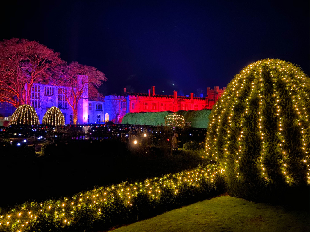 'Spectacle of Light' at Sudeley Castle & Gardens