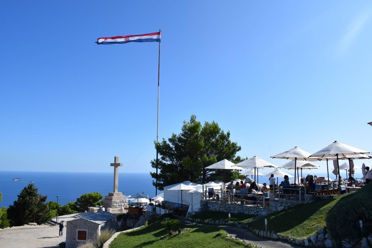 Views from Mount Srd Durbrovnik Croatia