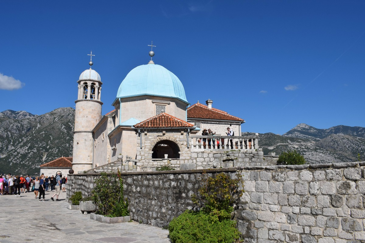 Our Lady of the Rocks in Perast, Montenegro