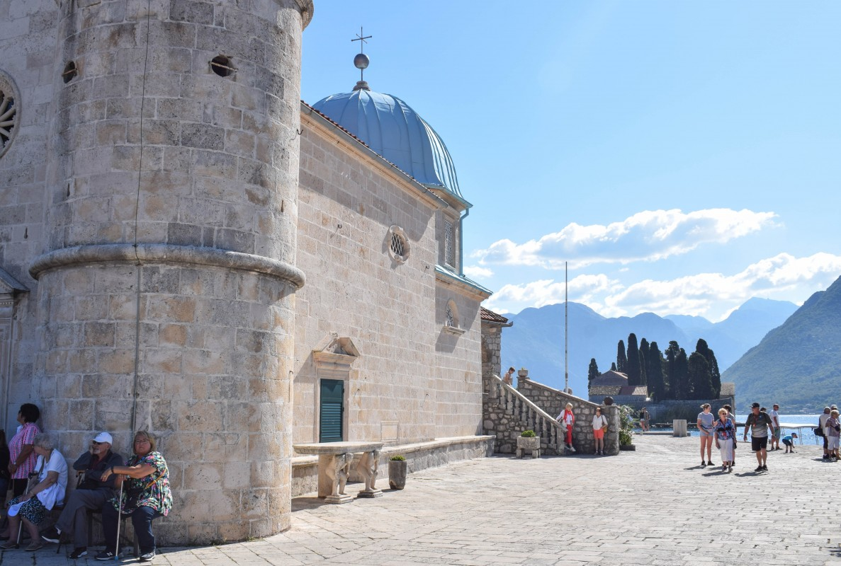 Perast Our Lady of the Rocks Montenegro