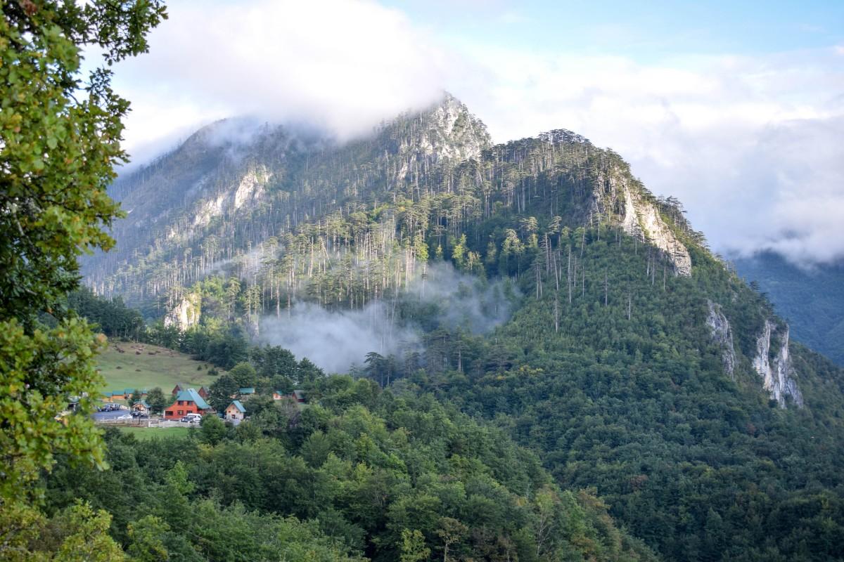 Tara Bridge and Canyon Durmitor National Park Montenegro