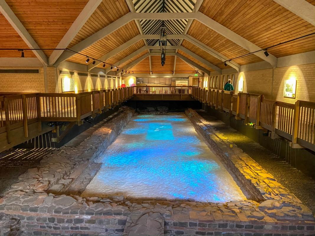 Caerleon Roman Fortress Baths Wales