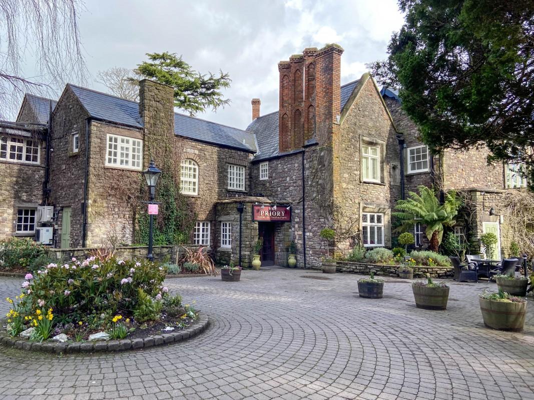 Priory Hotel and Restaurant Caerleon Wales