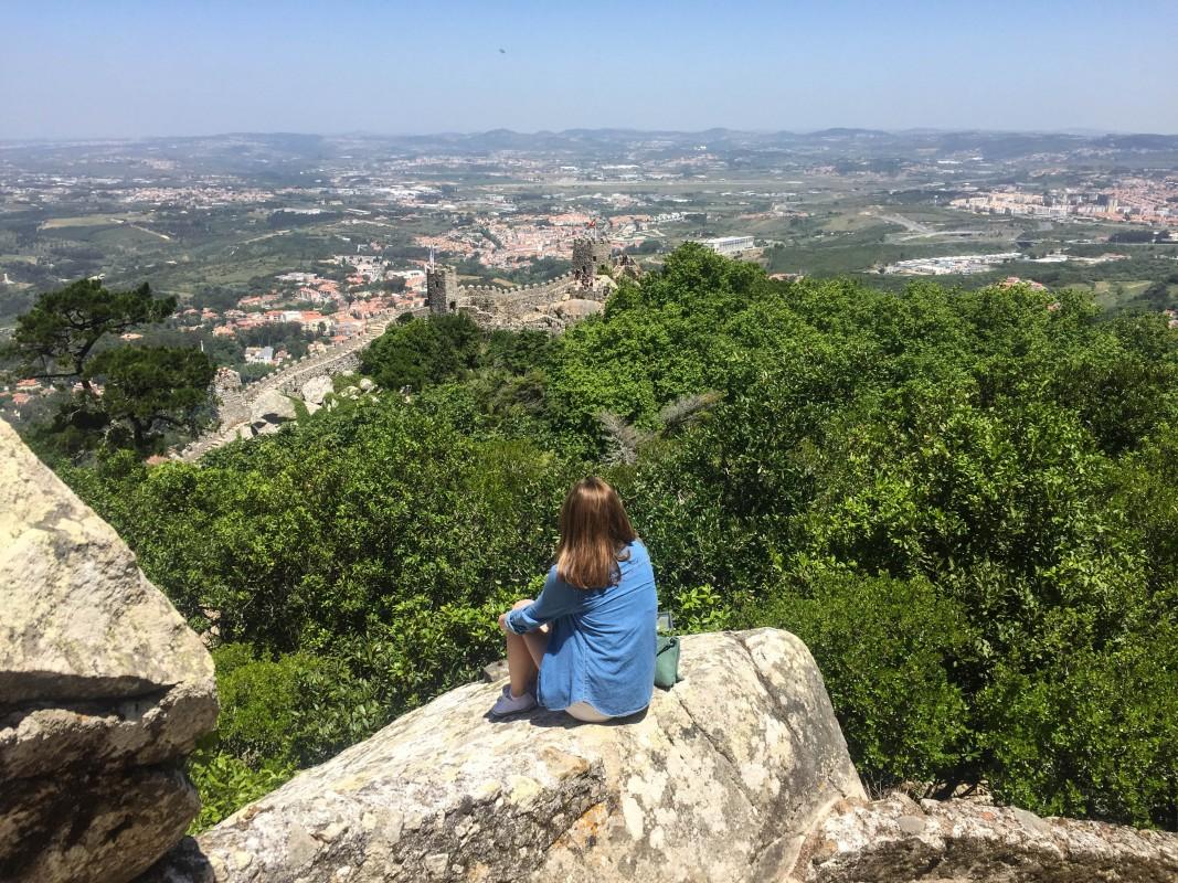 Moorish castle Sintra Lisbon views portugal holidays