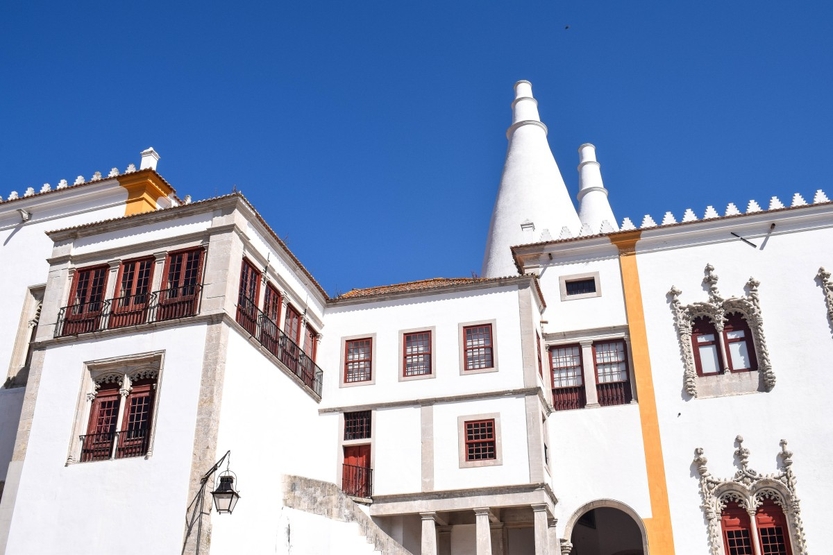 National Palace Sintra Lisbon Search Results Web results Palacio Nacional Portugal