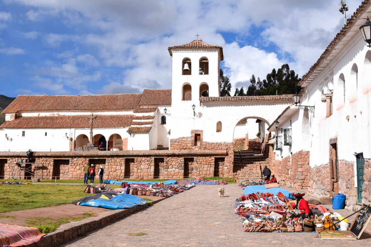 Chinchero Sacred Valley Peru