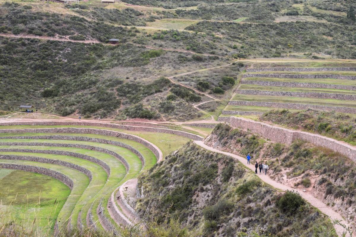 Moray Sacred Valley Peru Incan ruins