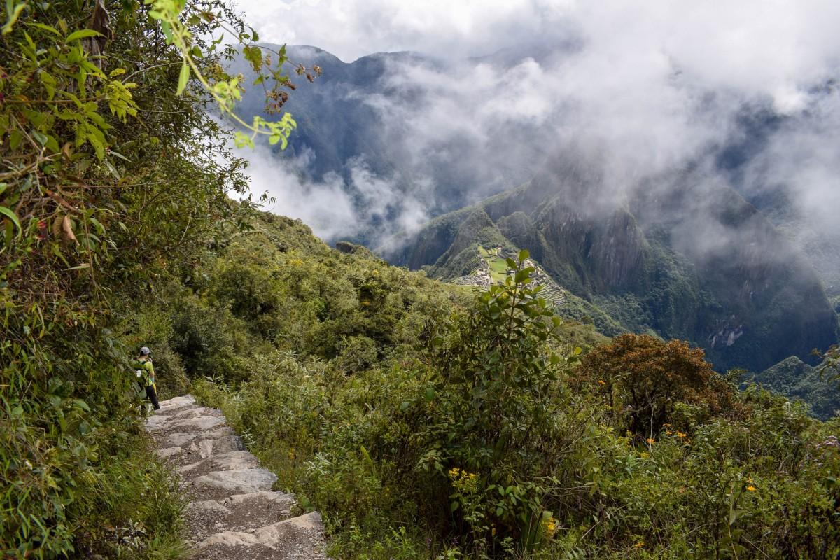 Machu Picchu Mountain hike Peru