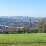 Bath skyline walk to the view
