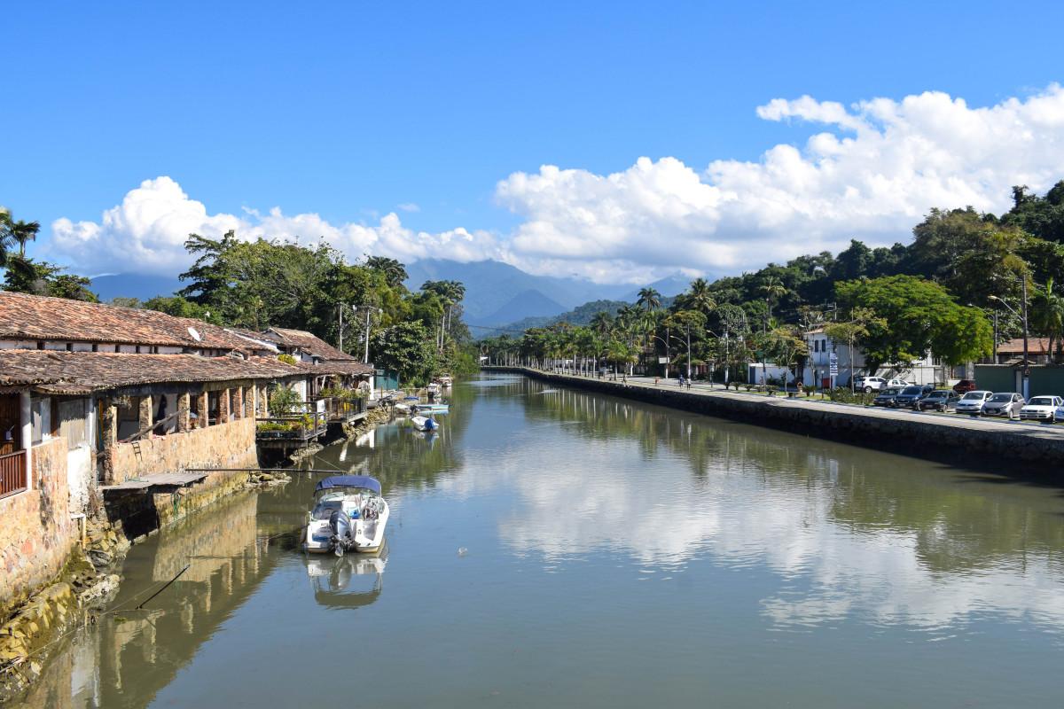 Paraty canals Brazil