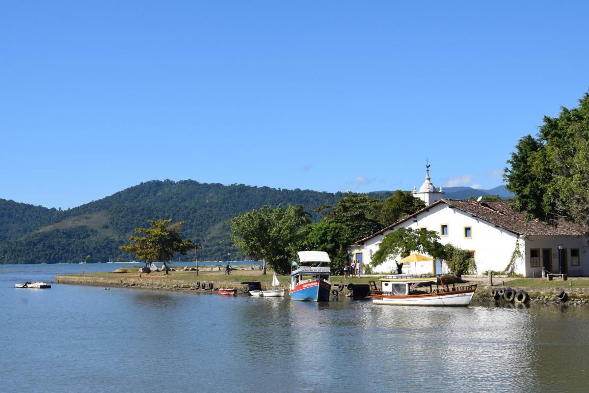 Paraty waterfront