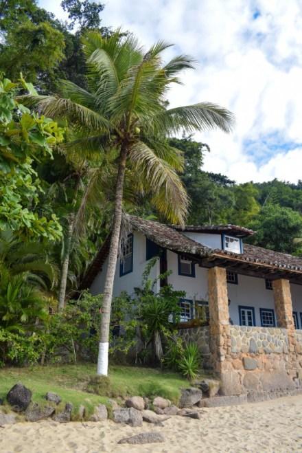 Paraty boat trip island brazil