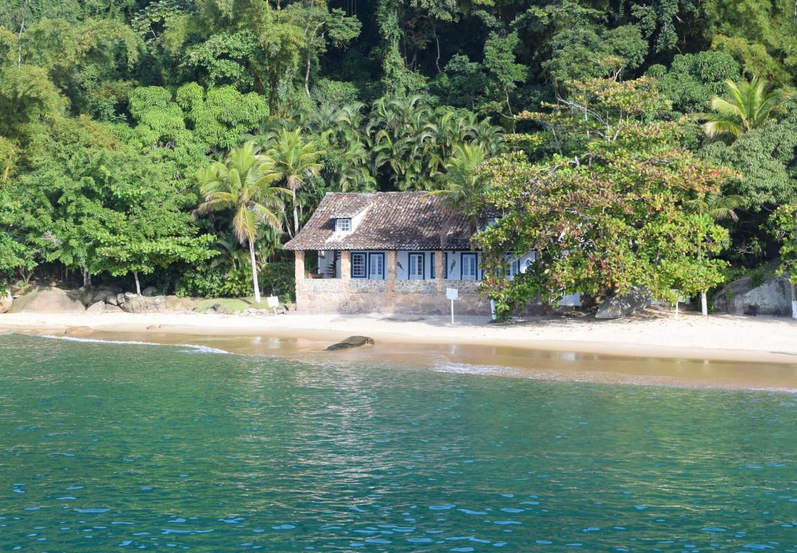 Paraty island boat trip Brazil