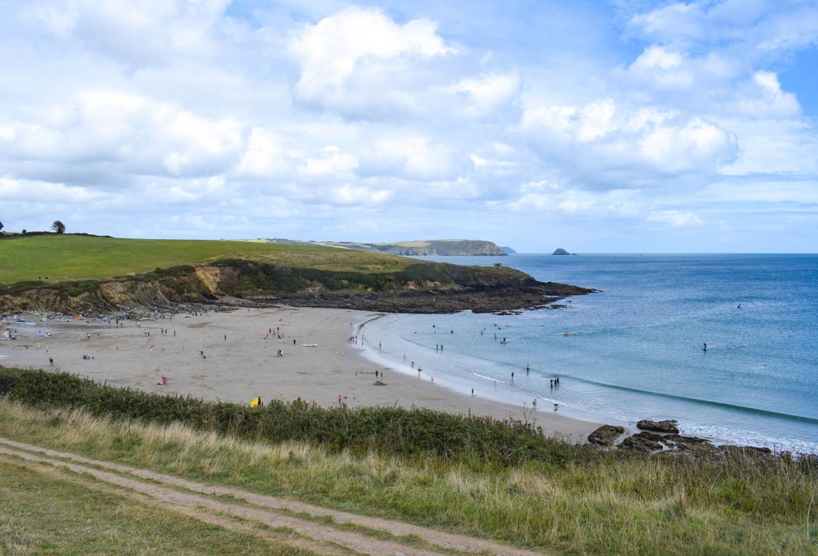 Porthcurnick Beach Roseland Peninsula Cornwall